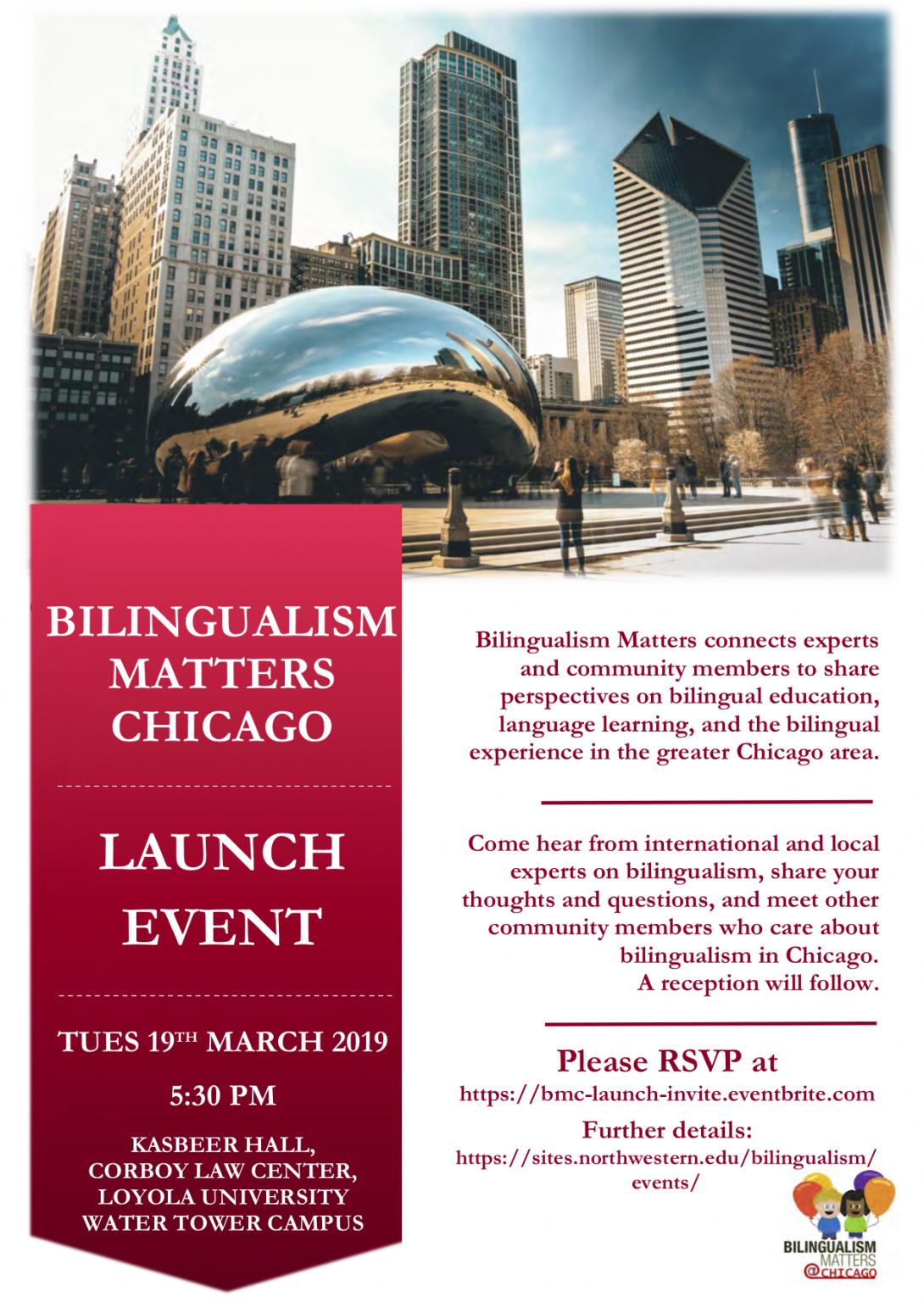 Bilingualism Matters Chicago Kickoff