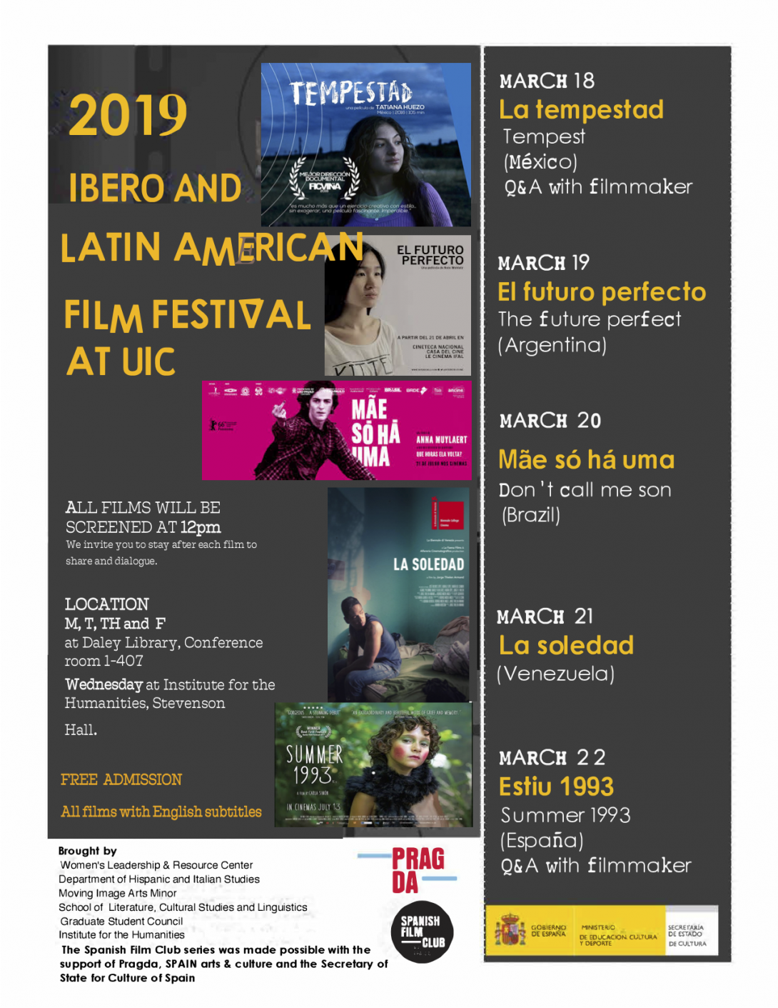 Ibero and Latin American Film Festival