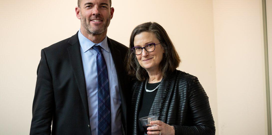 Director Mark Canuel & Bonnie Honig