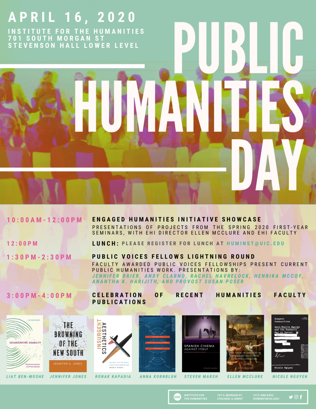 Public Humanities Day Flyer