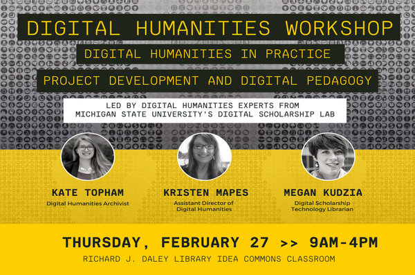 Details and pictures of the digital humanities workshop