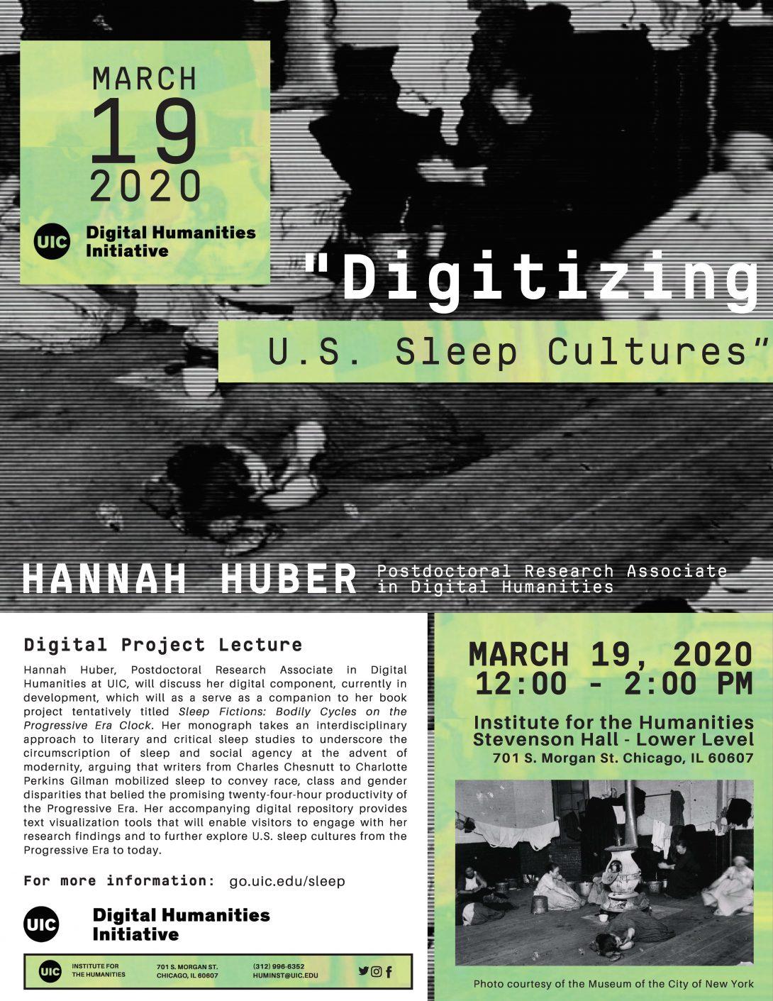 Digitalizing US Sleep Cultures Flyer