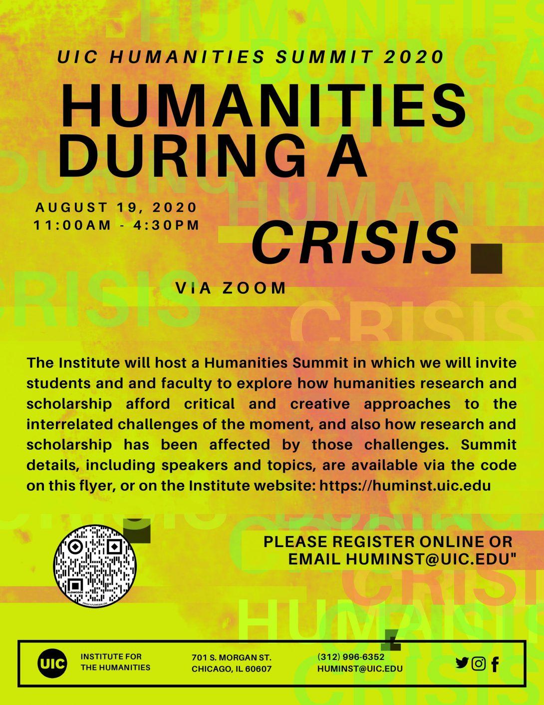 Humanities Summit 2020