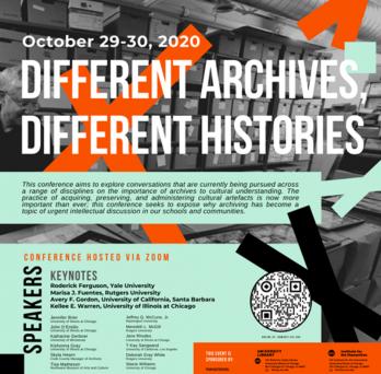 Different Archives Different Histories Flier