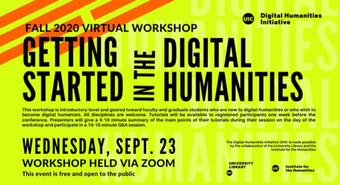 Details of the virutal workshop
